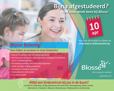 Blosse beleving 10 april